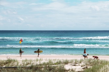 Kirra Beach. Copyright, Lexa.