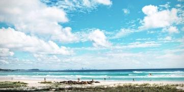 Kirra Beach. Copyrighht, Lexa